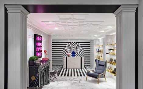 В Лондоне открылся первый флагманский магазин Aquazzura | галерея [1] фото [5]