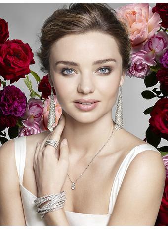 Миранда Керр стала лицом новой рекламной кампании Swarovski