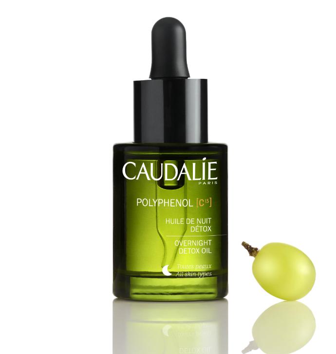Ночное детокс-масло Polyphenol C15 от Caudalie