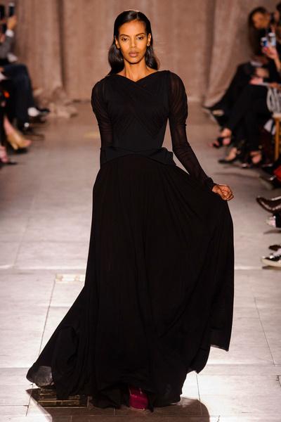Black tie: показы Carolina Herrera, Reem Acra и Zac Posen на Неделе моды в Нью-Йорке | галерея [1] фото [2]