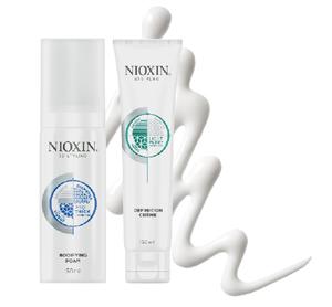 Укладка для тонких коротких волос. Линия NIOXIN 3D