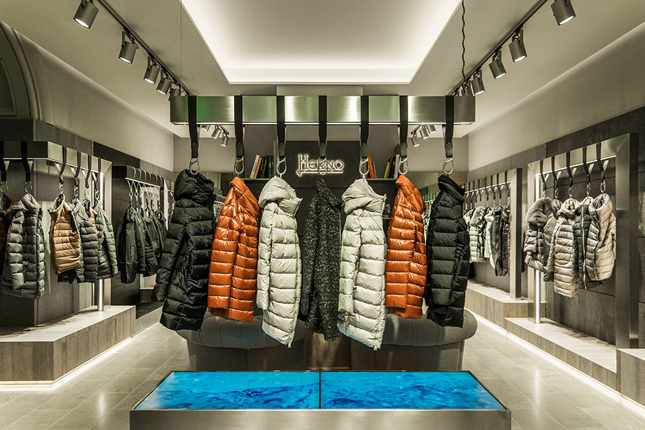 Новый флагманский бутик Herno