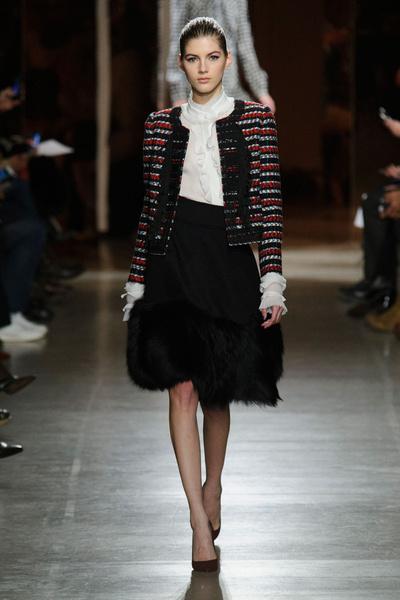 Показ Oscar de la Renta на Неделе моды в Нью-Йорке | галерея [1] фото [50]