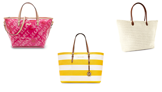 Фото пляжной моды 2013: сумки Victoria's Secret, Michael Kors, H&M