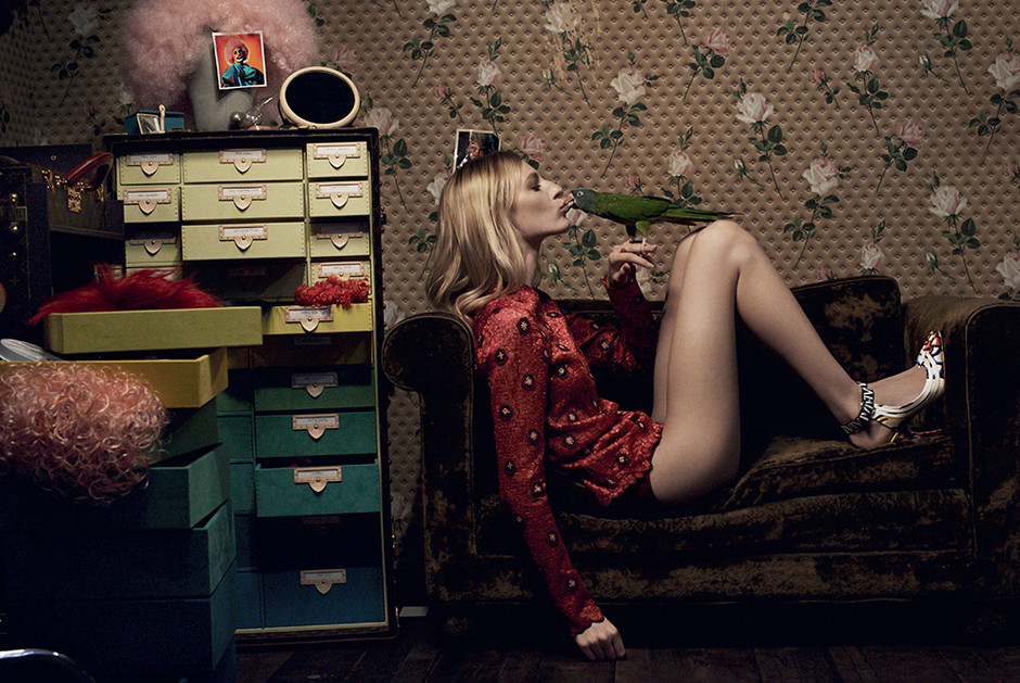 Блузка из шелка, туфли, все — Louis Vuitton