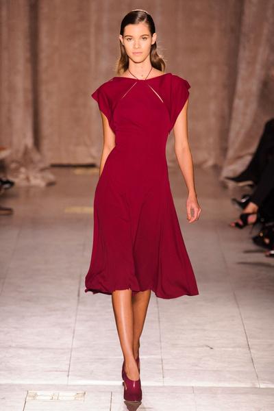 Black tie: показы Carolina Herrera, Reem Acra и Zac Posen на Неделе моды в Нью-Йорке | галерея [1] фото [14]