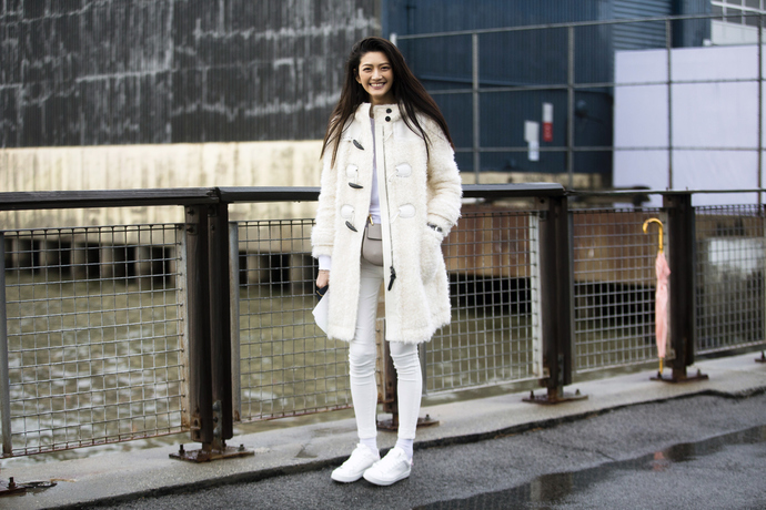 10 способов носить белые джинсы