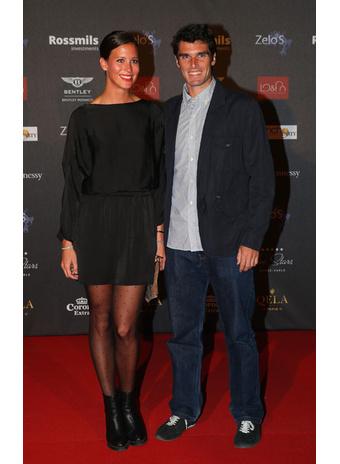 Пабло Андухар с женой