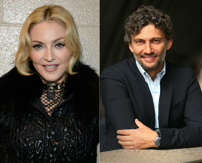 Мадонна и Йонас Кауфман