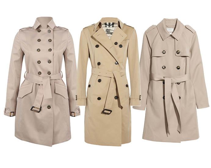 Выбор ELLE: тренчи Kira Plastinina, Burberry, H&M