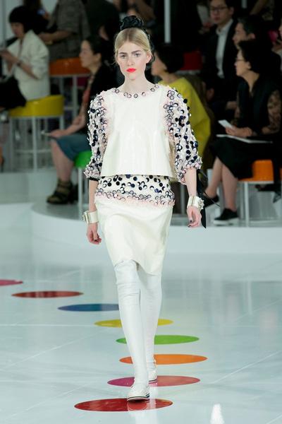 Показ круизной коллекции Chanel в Сеуле | галерея [1] фото [33]