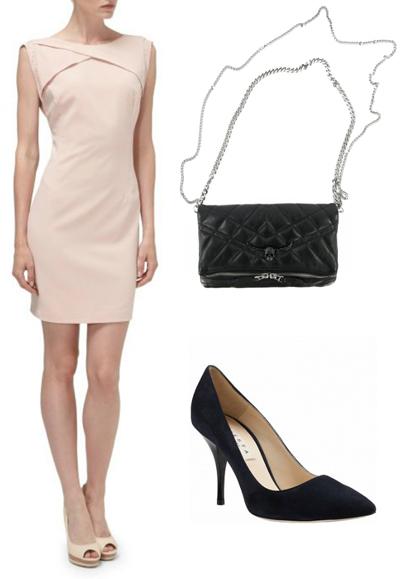 Платье Reserved, сумка Zadig&Voltaire, туфли Festa Milano (Fashion Galaxy)
