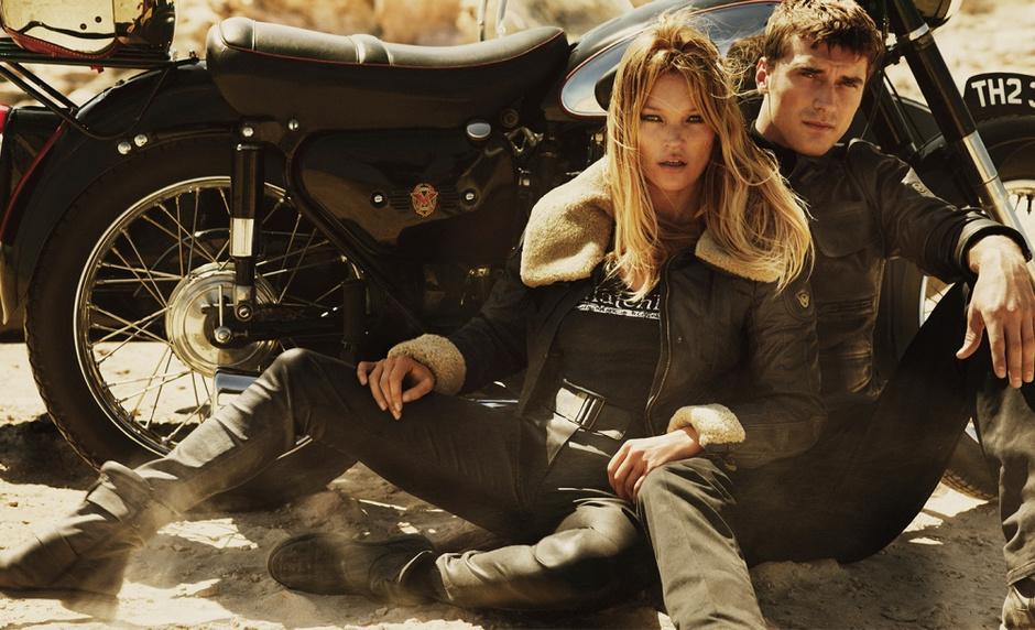 Кейт Мосс в рекламе Matchless