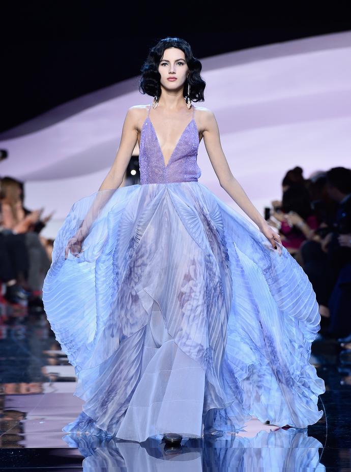 Энергия цвета: показ Armani Privé на Неделе Высокой Моды в Париже