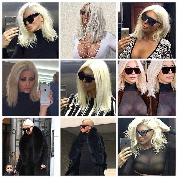 Сравнение с Ким Кардашьян