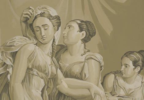 Коллекция Cupid & Psyche марки de Gournay | галерея [1] фото [3]
