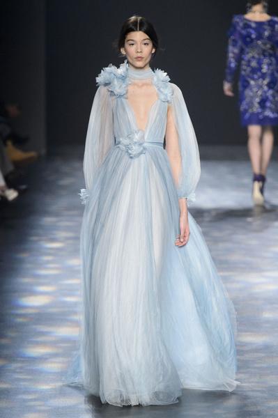 Самые красивые образы Недели моды в Нью-Йорке | галерея [1] фото [4]