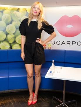 Мария Шарапова представила конфеты Sugarpova