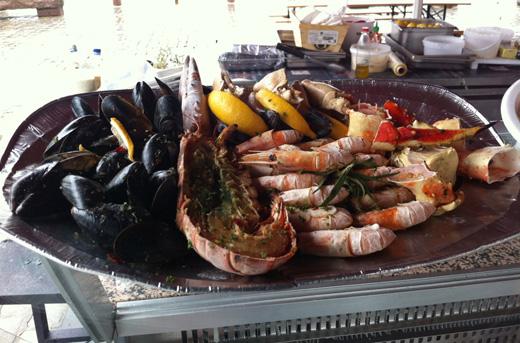 Морепродукты на норвежском рынке