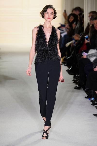 Показ Marchesa на Неделе моды в Нью-Йорке | галерея [1] фото [29]