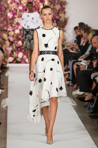 Показ Oscar de la Renta на Неделе моды в Нью-Йорке