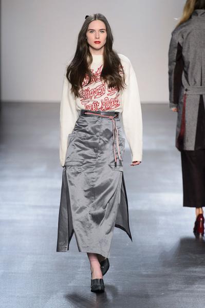 Самые красивые образы Недели моды в Нью-Йорке | галерея [1] фото [60]