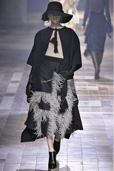 Показ Lanvin на неделе моды в Париже | галерея [1] фото [34]
