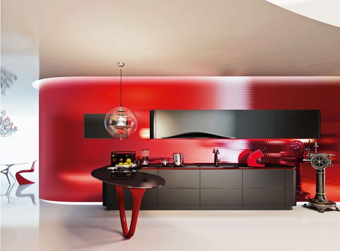 Паоло Пининфарина, Pininfarina, Snaidero, кухня, дизайн, Ola, Ola25