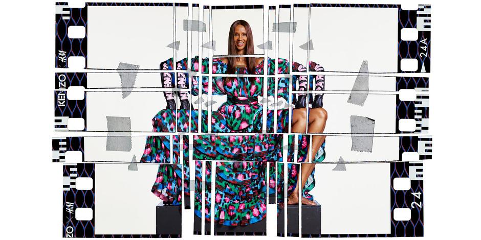 Первые кадры рекламной кампании Kenzo x H&M