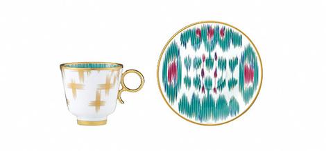 Новая коллекция посуды от Hermès | галерея [1] фото [6]