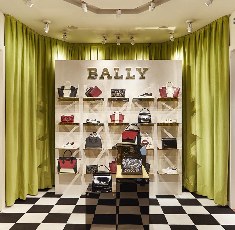 В Барселоне открылся pop-up бутик Bally
