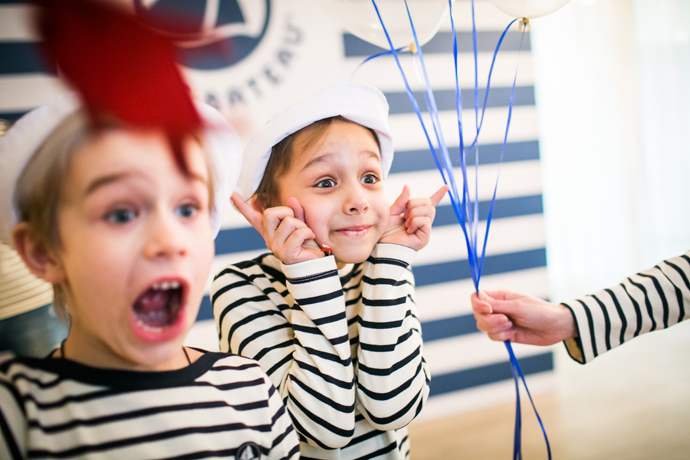 Звезды с детьми на празднике Petit Bateau