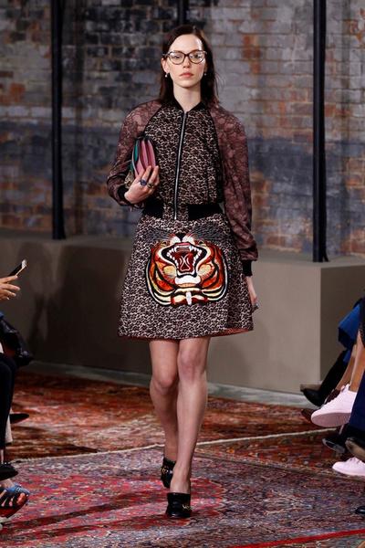 Дом Gucci представил новую круизную коллекцию 2016 | галерея [2] фото [3]