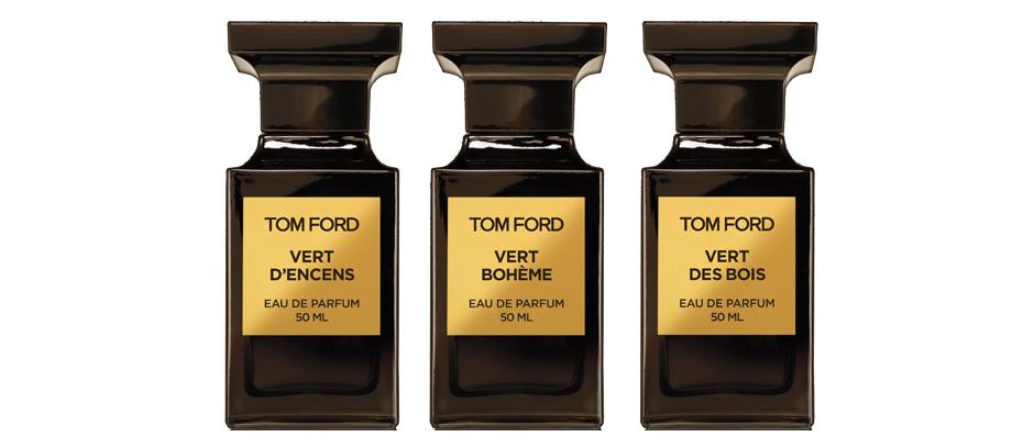 Tom Ford Private Blend, коллекция Les Extraits Verts