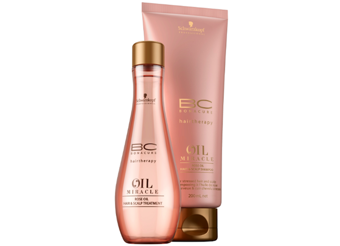 Масло BC Oil Miracle Rose Oil от Schwarzkopf Professional