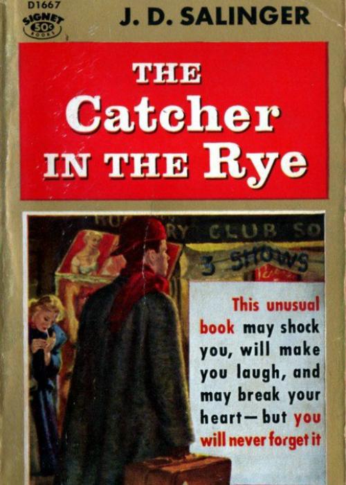 Джером Сэлинджер «Над пропастью во ржи» (1951) — 65 млн.