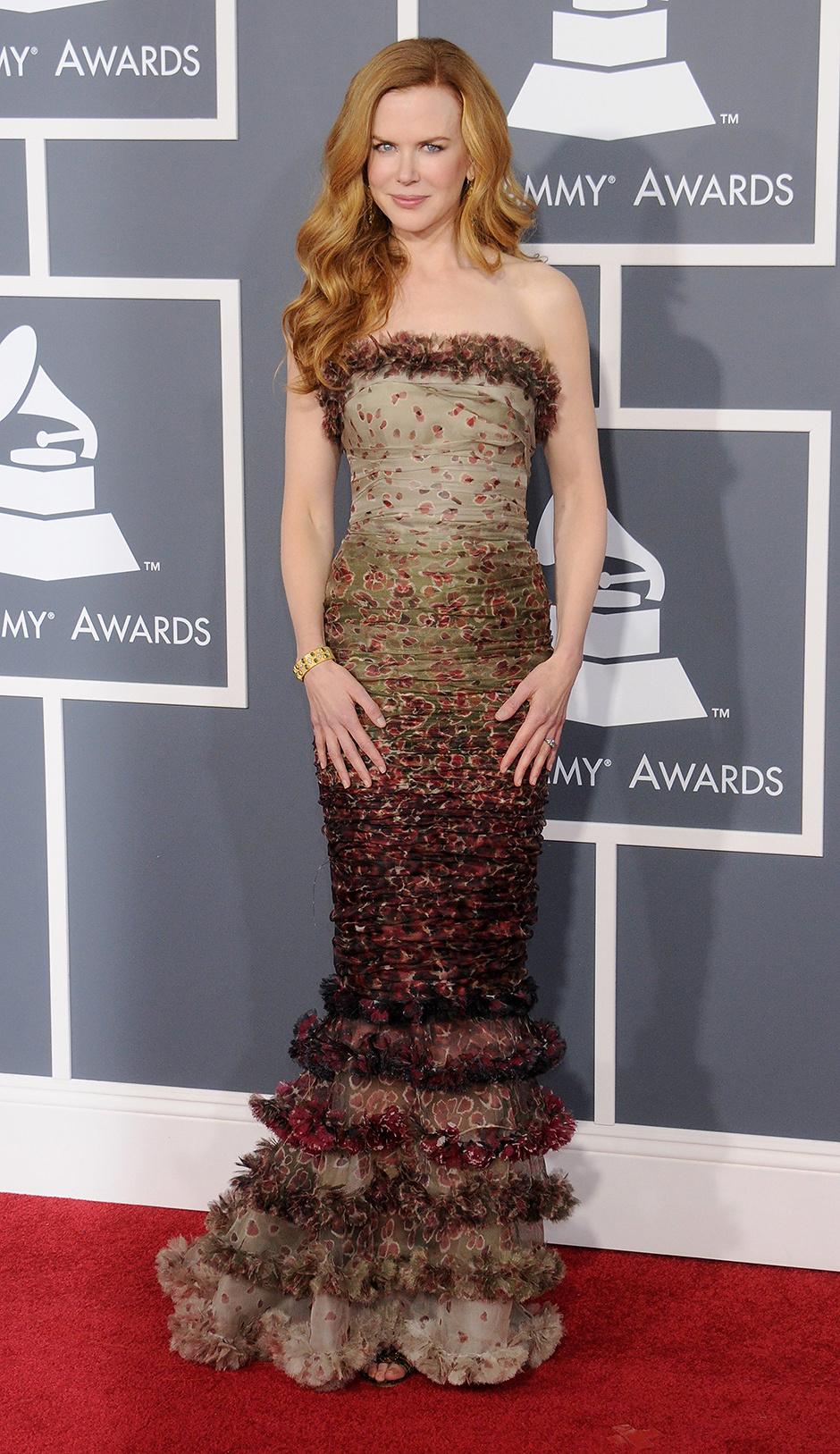 В платье Jean Paul Gaultier, 2011 год