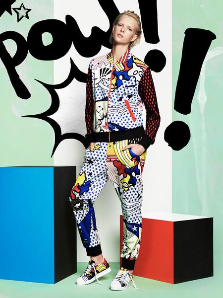 Рита Ора создала новую коллекцию для adidas Originals | галерея [1] фото [7]