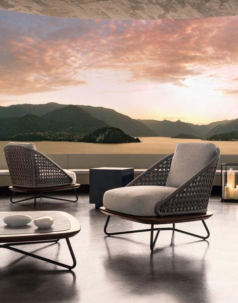 Outdoor коллекция мебели Rivera от фабрики Minotti | галерея [1] фото [6]