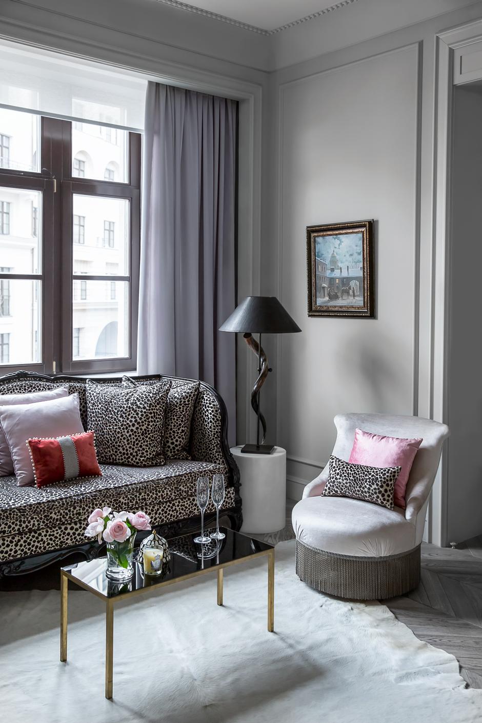 Интерьер в парижском стиле