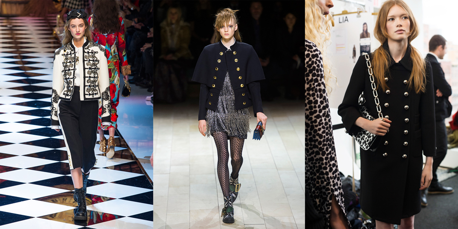 Dolce & Gabbana, Burberry, Michael Kors