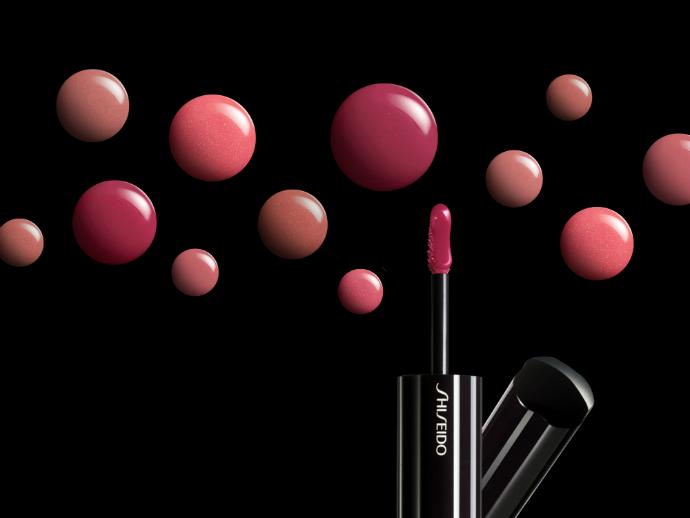 Помады-блеска Lacquer Rouge от Shiseido