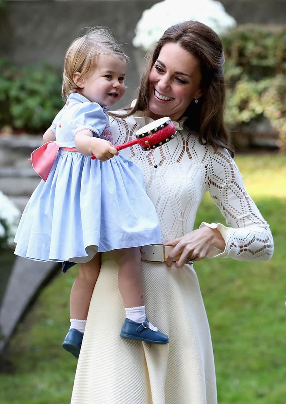 Кейт Миддлтон с дочерью