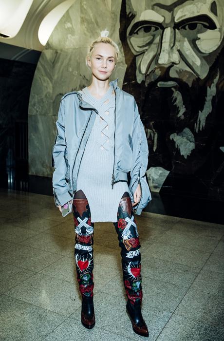 Звезды на показе Alexander Terekhov в московском метро