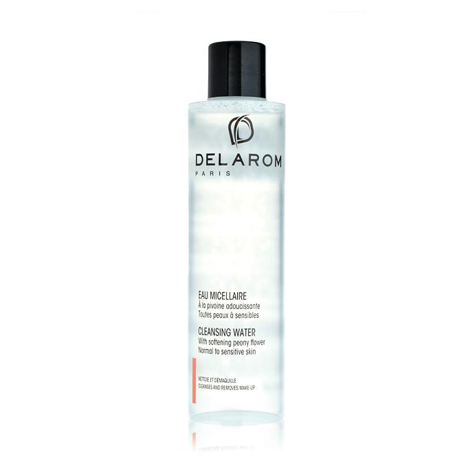 Мицеллярное очищающее средство для лица и глаз, Delarom