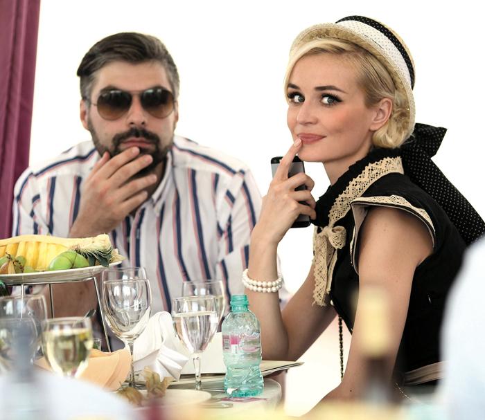 Дмитрий Исхаков и Полина Гагарина фото