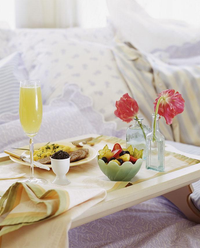 Завтрак романтика