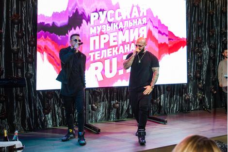 Объявлены номинанты Русской Музыкальной Премии RU.TV 2016 | галерея [1] фото [5]