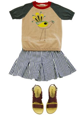 Marni детская мода весна-лето 2014