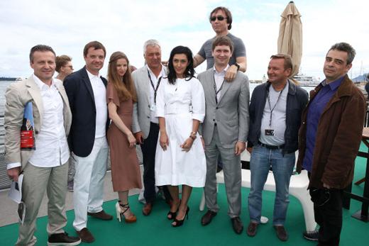 Русские знаменитости в Каннах